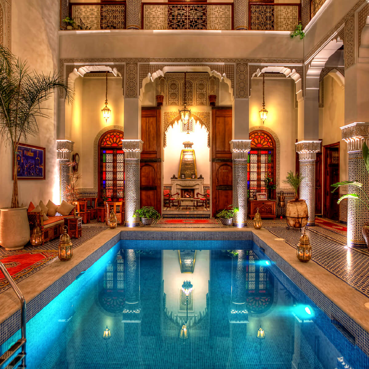 Villa riad bahadi agadir morocco guide for Best riads in marrakesh