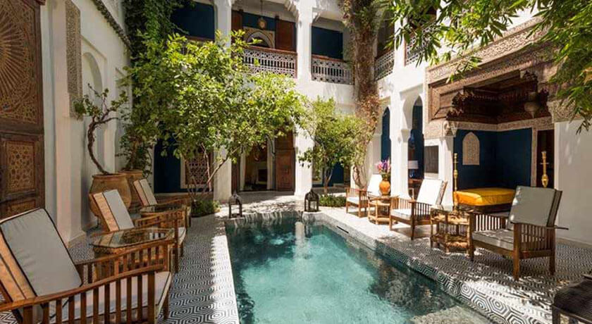 Riad les yeux bleus deals reviews casablanca morocco for Riad piscine privee marrakech