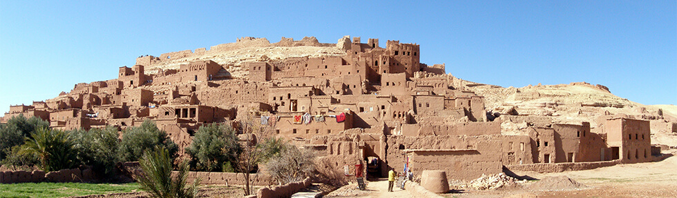 ait-ben-haddou - Panoramic view
