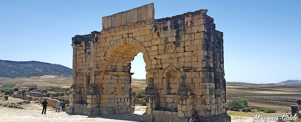 Volubilis - The Arch of Triumph