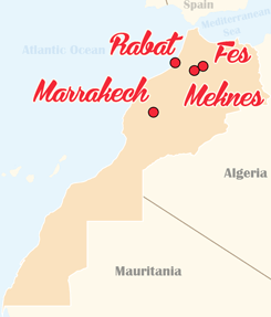 Morocco Map none