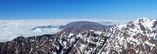 Toubkal mountain - Morocco