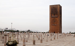 Rabat Hassan Tower