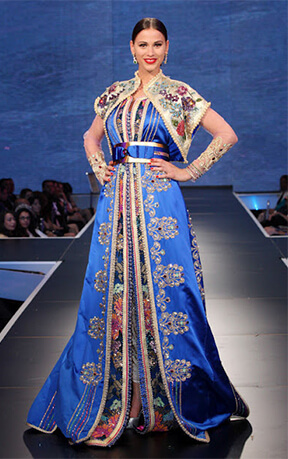 Moroccan Caftan Celebrities