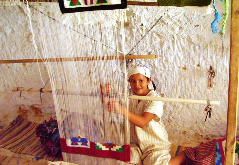 Morocco People - Moroccan berber girl working