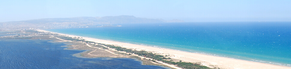 The lagoon of Nador (Mar Chica)