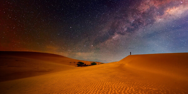Sahara night - Morocco