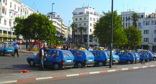 Rabat Petits Taxis Station